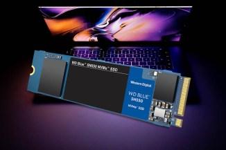 WD Blue SN550 NVMe, per postazioni ad alte performance