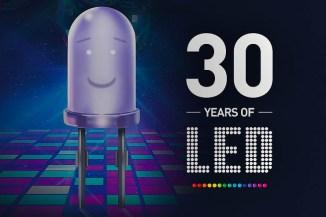 Auguri da OKI Europe i 30 anni della tecnologia LED