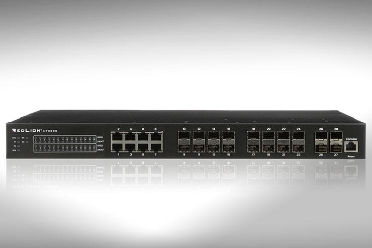 Red Lion lancia lo switch NT328G creato per l'industria