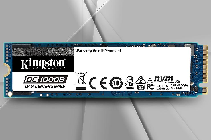 Kingston DC1000B NVMe, SSD per data center aziendali