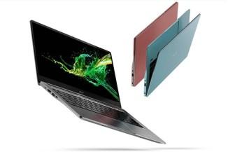 Novità in Acer con l'arrivo dei notebook ultraslim Swift 3