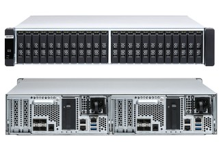 QNAP ES2486dc, storage enterprise high-availability dual controller