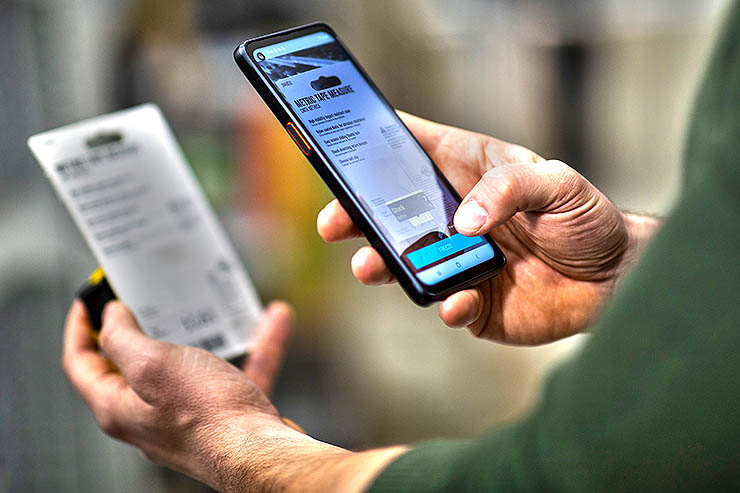 Scandit, scansione codici a barre Samsung Galaxy XCover Pro