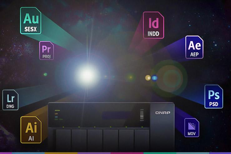 Video e grafica professionale, QNAP è partner Adobe