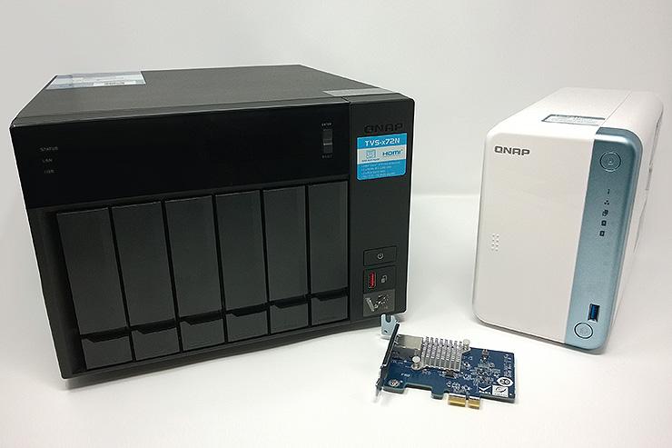 Storage NAS e networking QNAP per una rete 5 GbE