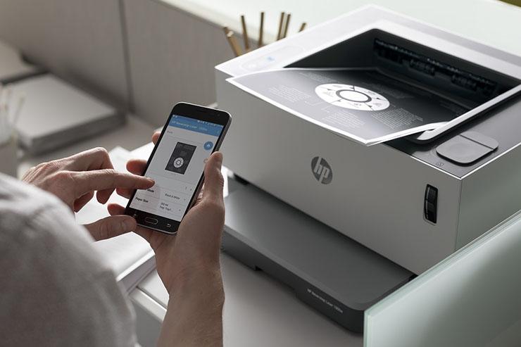HP Neverstop Laser, anche a casa la stampa è professionale