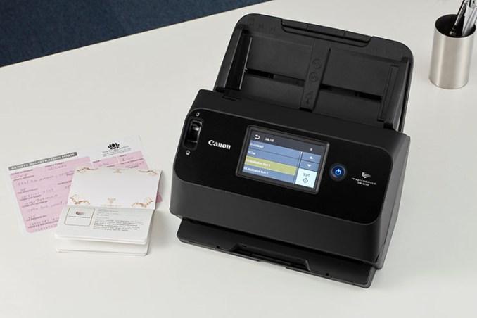 Canon scanner e i passaporti