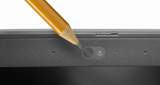 Webcam con protezione privacy