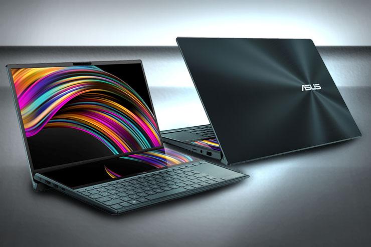 Notebook dual-display per lavoro