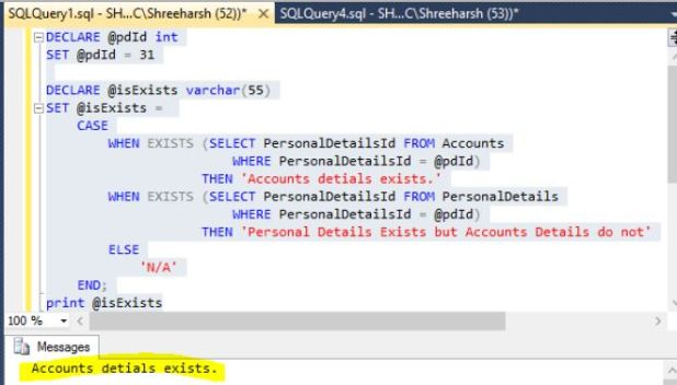 how to create a case statement in sql