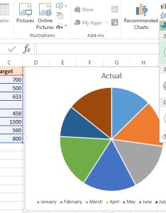pie chart in excel also   tech funda rh techfunda