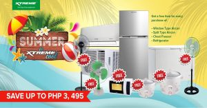 XTREME Appliances launches exciting bundle promos with their 2021 Summer Is XTREME Cool