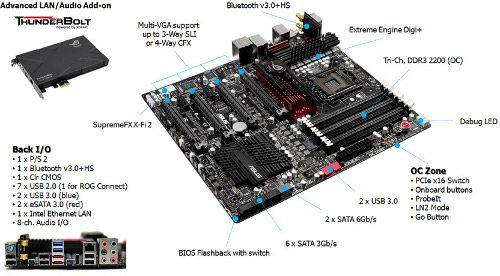 ASUS Intros High-End Rampage III Black Edition Motherboard
