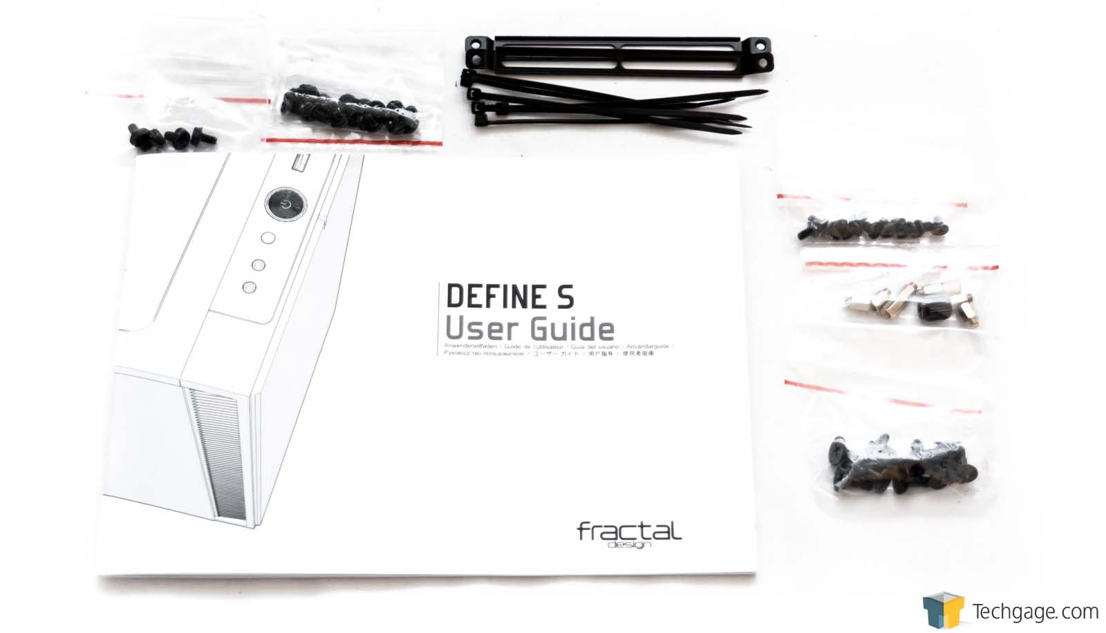 The PC Chassis Evolved  A Review Of The Fractal Design Define S  Techgage