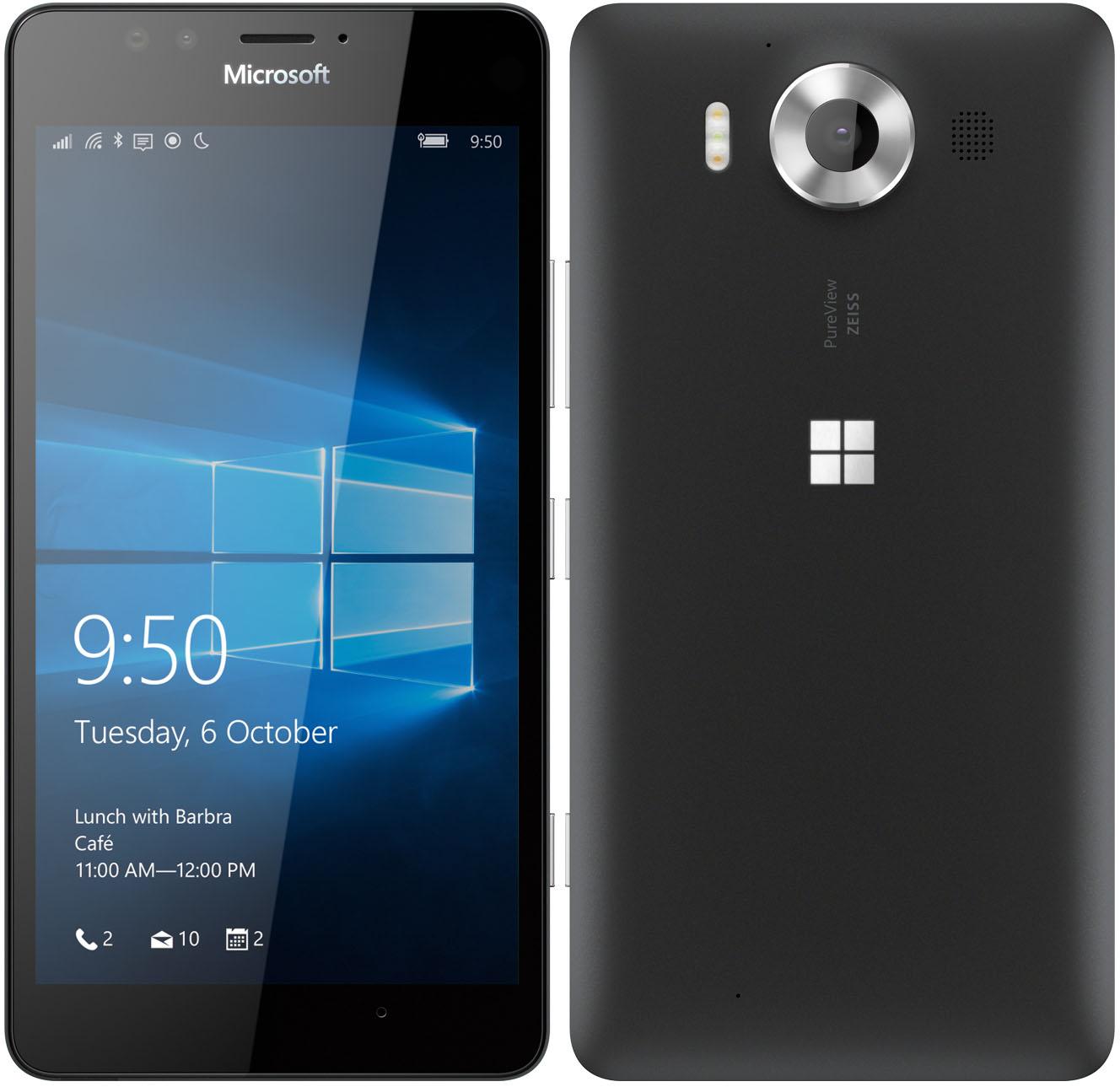 Microsoft Announces Lumia 950 Amp 950 XL Flagship