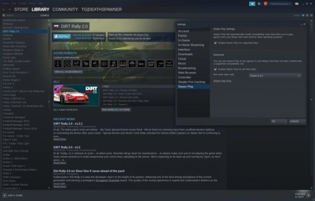 Steam with Steam Play (and Proton)
