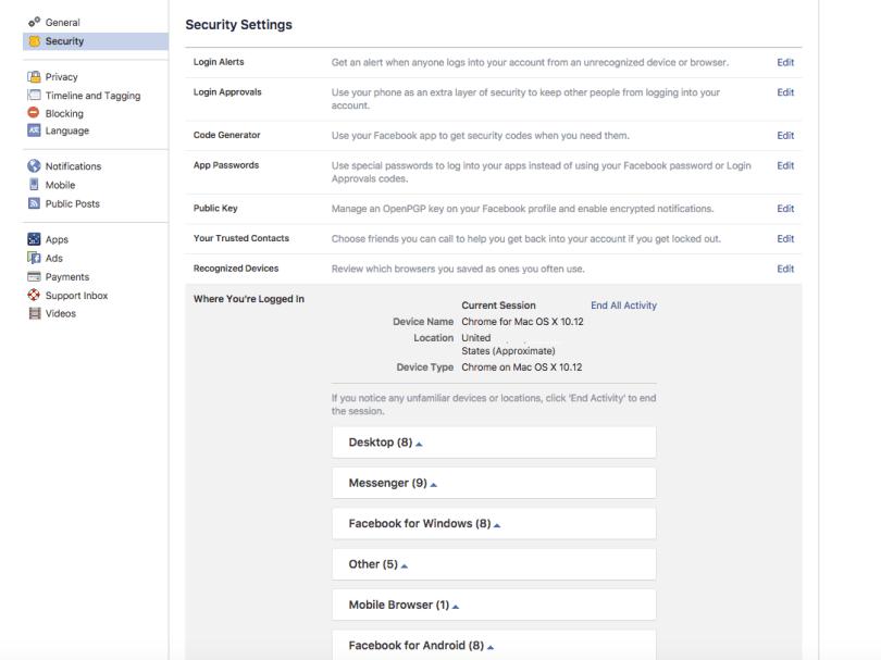 FB Browser Screenshot