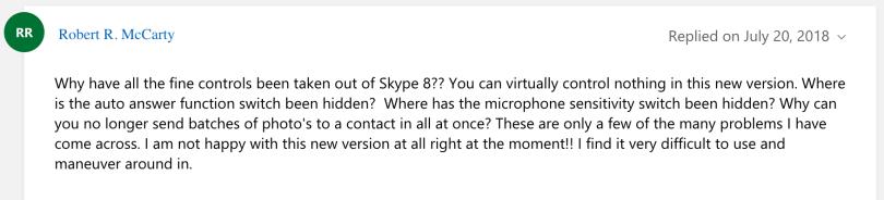 Skype user comment 2