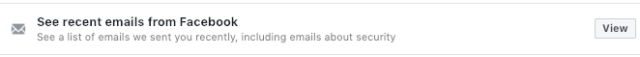 FB email confirmation