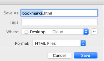 bookmark save