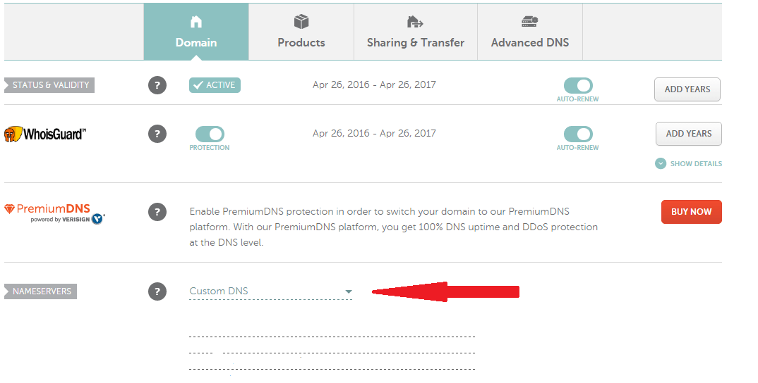 namecheap-custom-dns