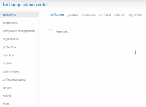 exchange-admin-center-interface