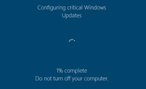 Fantom ransomware disguised as Windows Update