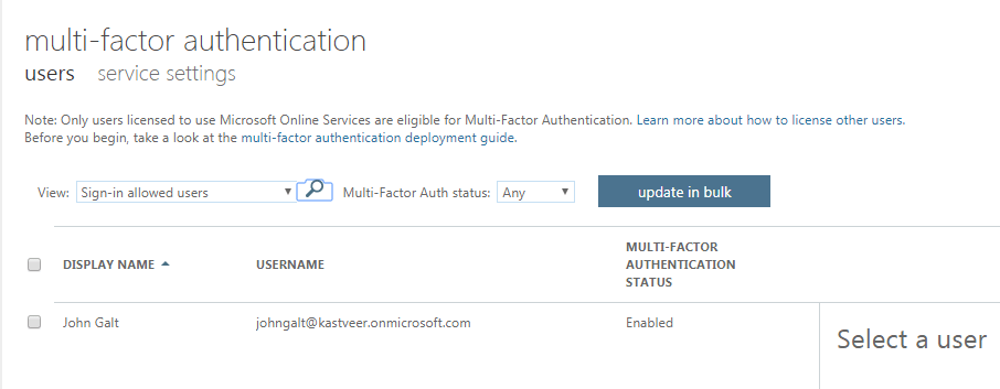 Multifactor authentication for Office 365: A step-by-step