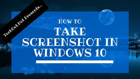 Shortcut Screenshot Windows 10