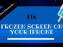 Fixing a Frozen Screen on Your iPhone