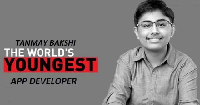 TANMAY BAKSHI: Youngest App Developer amongst all