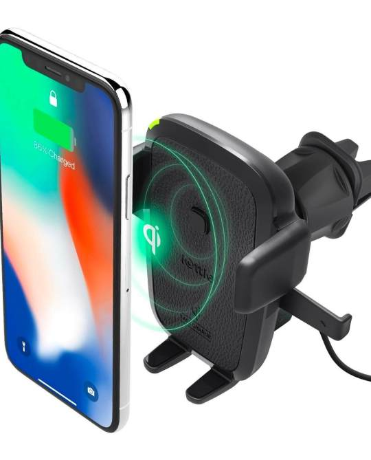 wireless car mount charger