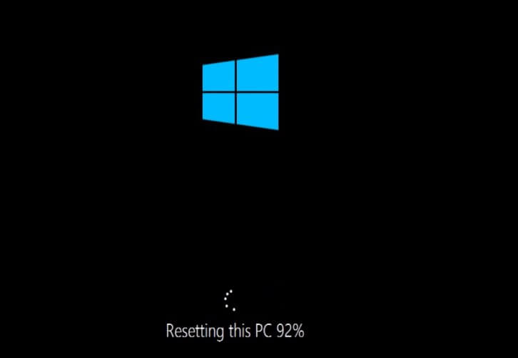 factory reset windows 10, 8