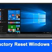 how to factory reset windows 10 pc