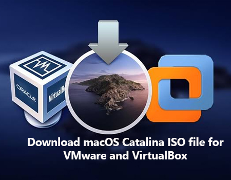 macos catalina iso file for vmware and workstation