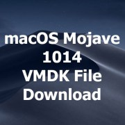 macos mojave vmdk file download