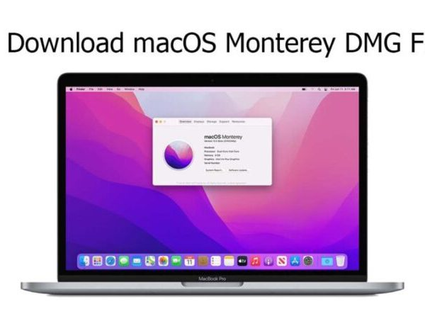 Download macOS Monterey DMG File For Clean Installation