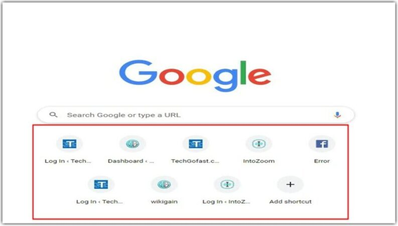 How to Remove New Tab Shortcuts in Google Chrome