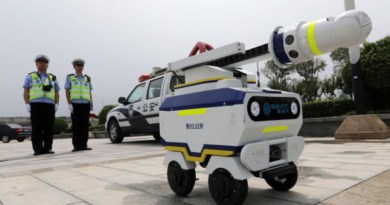 Here's China's First Traffic Robot Police, And Its Now On Duty