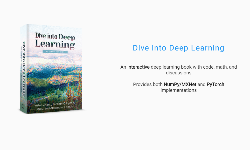 Dive into Deep Learning : A Beginner to Advance Book