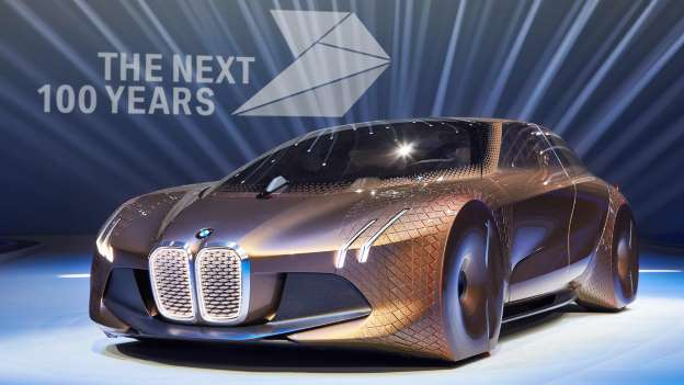 Tech Meets Interior - BMW Vision Next 100 Concept