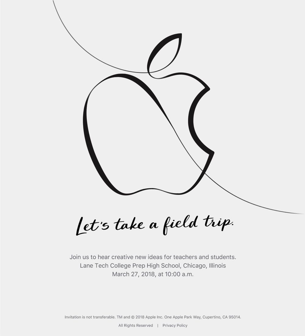 What we can expect to see at Apple's education event this