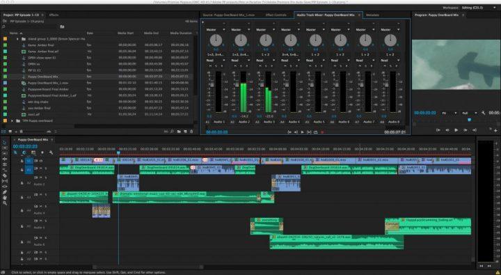 adobe premiere pro audio editing