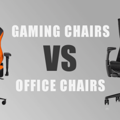 Office Chair You Sit Backwards Tree Stump Aj Gaming Chairs Vs Which Style Is Best For