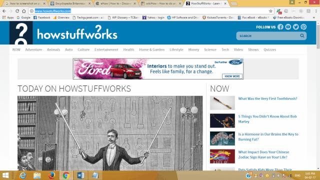 homepage of howstuffworks