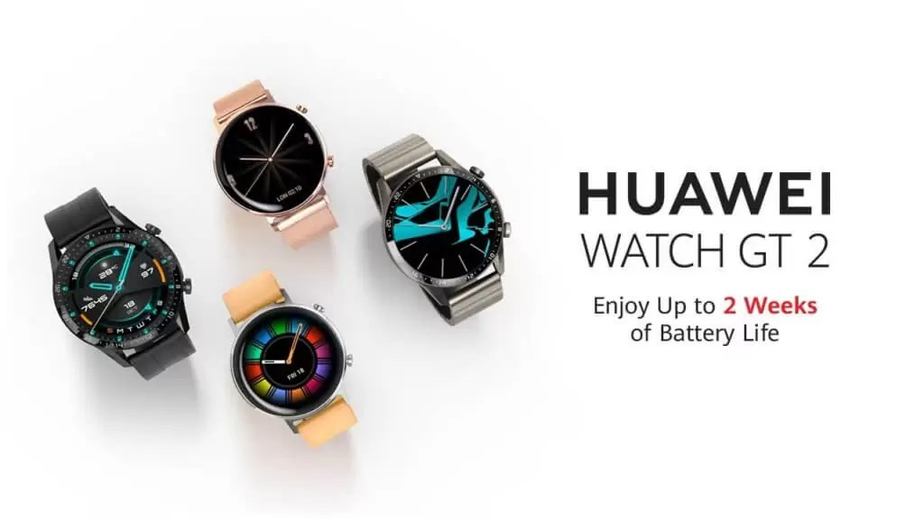 Huawei Watch GT2 cea mai lunga durata a bateriei