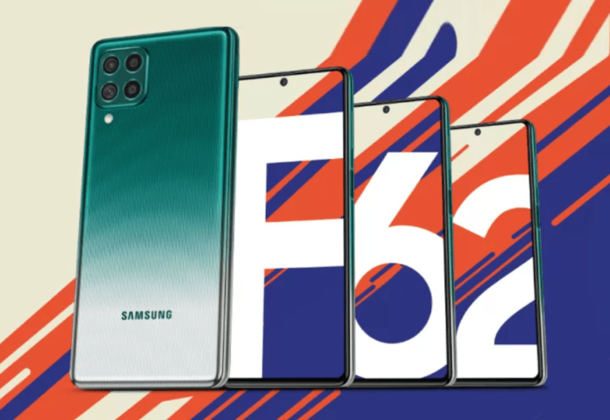 smasung F62 full specifications