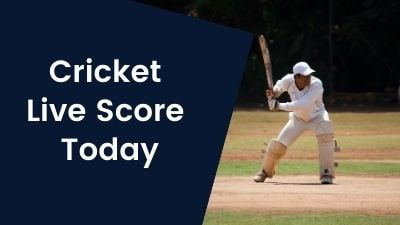 Cricket Live Score Today