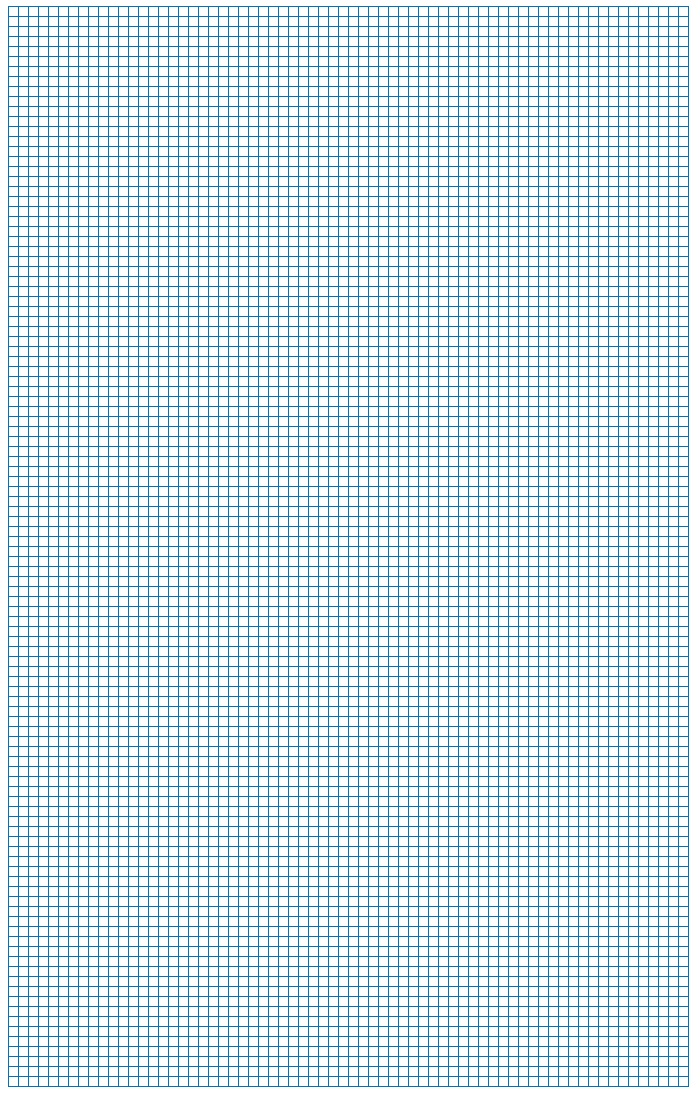 Graph Paper Blue Lines Small Block