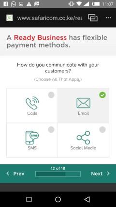 Safaricom ready for business